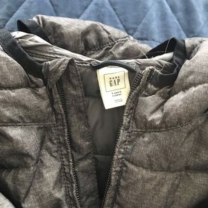 Baby Gap Gray Primaloft Puffer Jacket